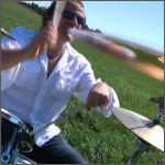 Pierre P. : Drums, percussion, sequencing, back vocals | A L I F E - Creative Music Projects